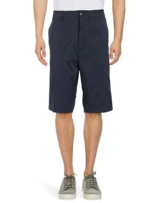 Big & Tall Opti-Stretch Subtle Grid Patterned Golf Shorts with Active Waistband 500087426717
