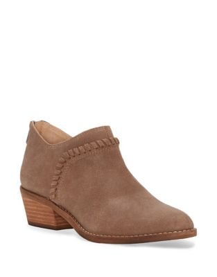 Fawnn Brindle Leather Booties by Lucky Brand