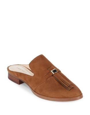 Huebart Suede Mules by Nine West