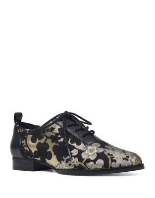 Hyida Floral Oxfords by Nine West