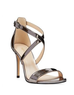 My Debut Metallic Sandals by Nine West