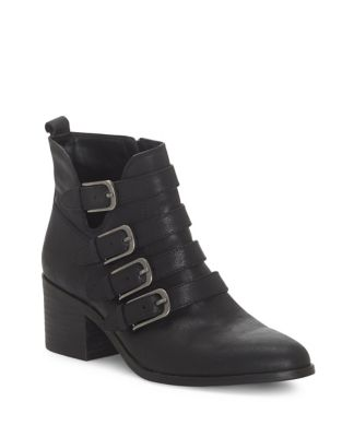 Loreniah Leather Booties by Lucky Brand
