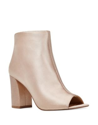 Haywood Satin Booties by Nine West
