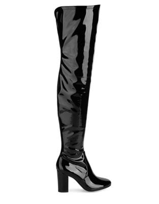 Angelica Glossy Over-The-Knee Boots by Kenneth Cole New York
