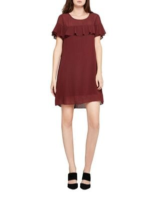 Ruffled A-Line Dress by BCBGeneration