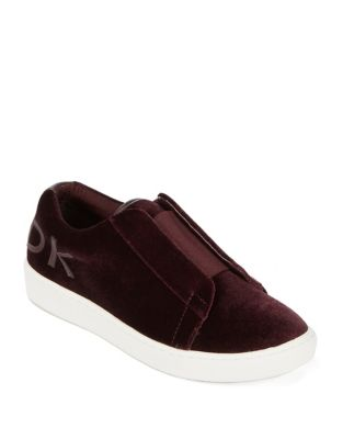 Bazel Velvet Slip-On Sneakers 500087434466