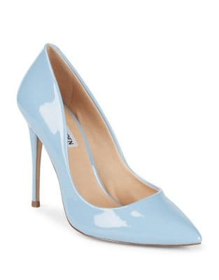 Daisie Faux Patent Pumps by Steve Madden