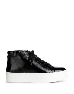 Janette Patent Leather Sneakers by Kenneth Cole New York