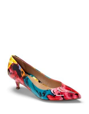 Josie Floral Fabric Pumps by Vionic