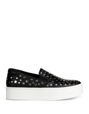 Jeyda Leather Slip-On Sneakers by Kenneth Cole New York