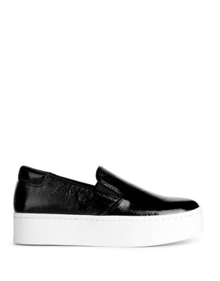 Joanie Patent Leather Slip-On Sneakers by Kenneth Cole New York