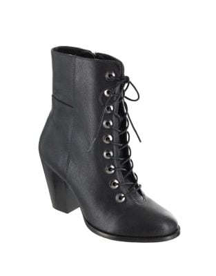 Fontana Leather Booties by Mia