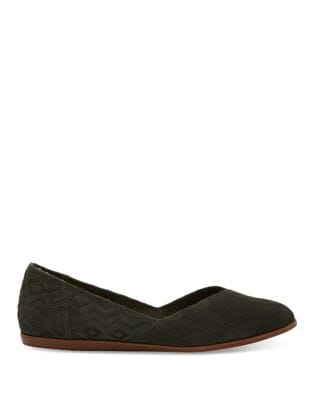 Jutti Suede Flats by TOMS