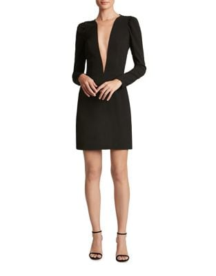 Crepe Sheath Mini Dress by Dress The Population