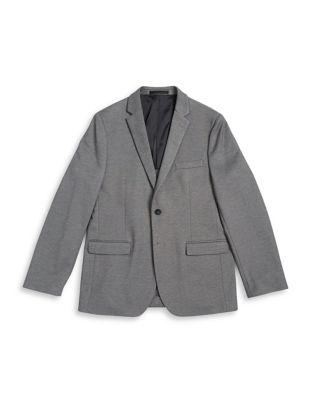 Boy's Heathered Sportcoat...