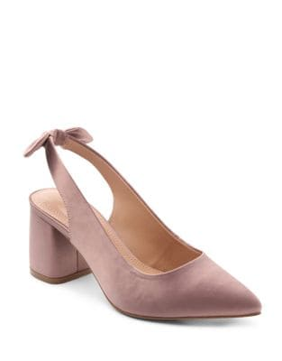Anna Maria Satin Pumps by Kensie