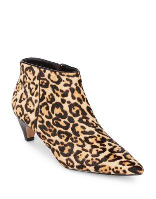 Dante Leopard Print Calf Hair Booties by Splendid