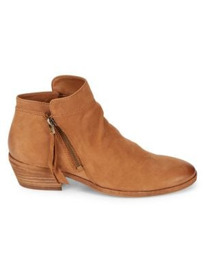 Packer Leather Ankle Booties by Sam Edelman