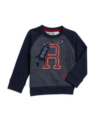 Little Boys Graphic Sweater