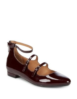 Gavinia Patent Leather Mary Jane Flats by Calvin Klein