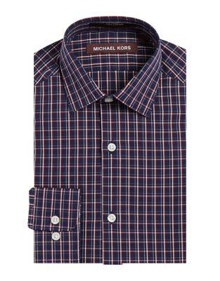 Boy's Cotton Button-Down Shirt 500087448774