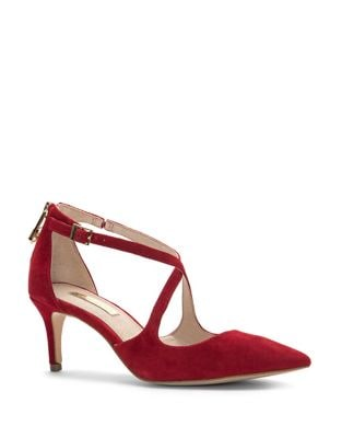 Jena Suede Stiletto Pumps by Louise et Cie