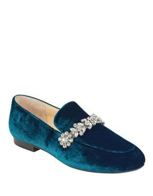 Wareen 2 Velvet Loafers by Ivanka Trump