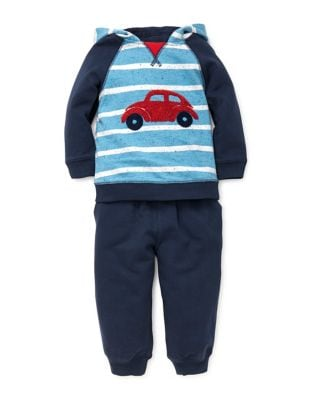 Baby Boy's Two-Piece Car Cotton Hoodie & Jogger Pants Set 500087450637