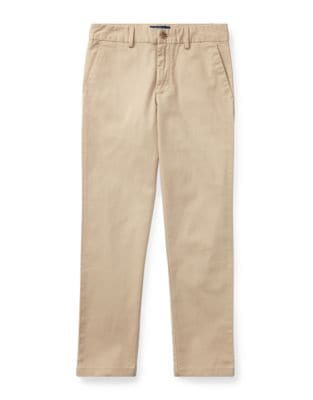 Toddlers Little Boys  Boys Belted Stretch Cotton Chino