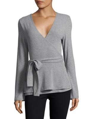 Wrap Ballet Sweater @...