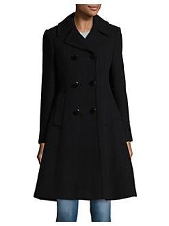 Women's Wool Coats: Black Wool Coats & More | Lord & Taylor
