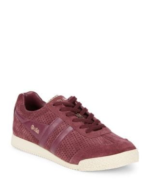 Harrier Glimmer Suede Sneakers by Gola