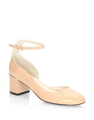 Warner Ankle Strap Leather Pumps by Cole Haan