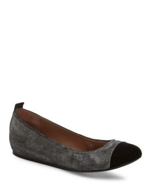 Suede Hidden Wedge Ballet Flats by Ed Ellen Degeneres