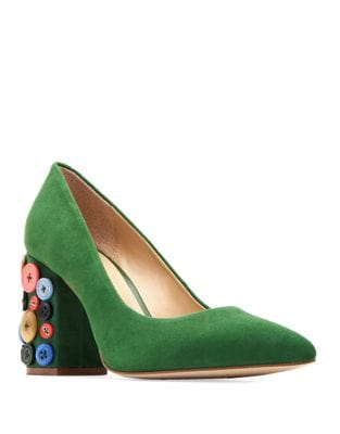 Anjelica Suede Pumps by Katy Perry