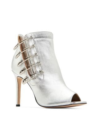 Unity Metallic Leather Booties by Katy Perry