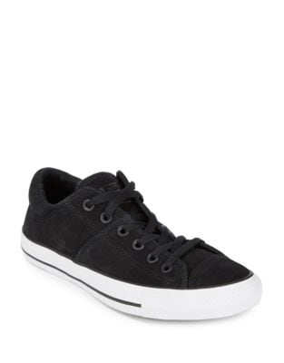 Madison Suede and Leather Sneakers by Converse