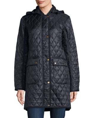 Hooded Quilted Coat 500087454946