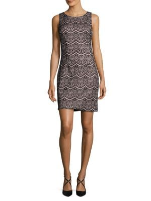 Crewneck Sheath Dress by Guess