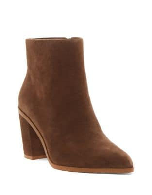 Paven Suede Booties by 1.STATE