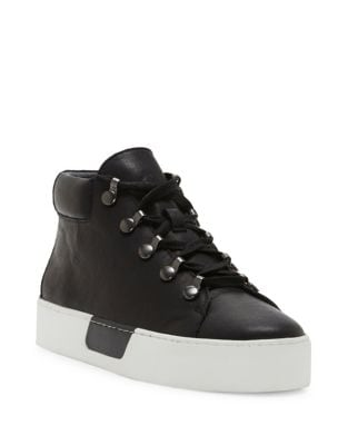 Wrine Low Top Leather Sneakers by 1.STATE