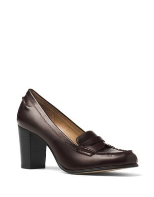 Bayville Leather Loafers by MICHAEL MICHAEL KORS