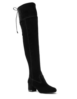 Jamie Zip Velvet Over-The-Knee Boots by MICHAEL MICHAEL KORS