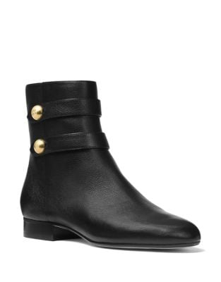 Maisie Leather Booties by MICHAEL MICHAEL KORS
