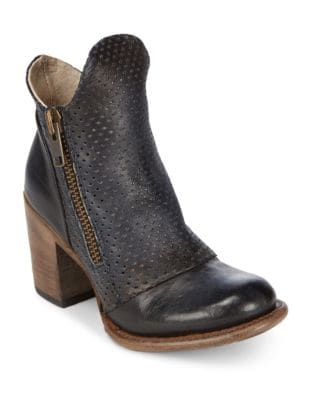 Bowie Leather Booties by Freebird By Steven