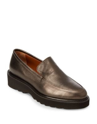 Kelsey Leather Loafers by Aquatalia
