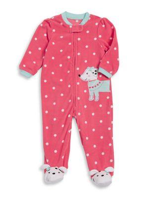 Baby Girl's Dalmatian Blanket Pajamas 500087463198