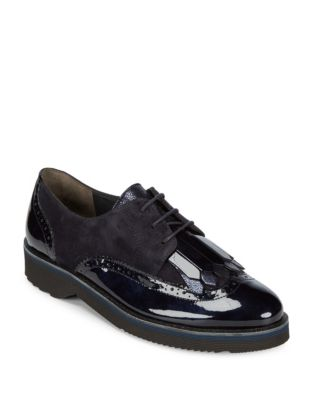 Newport Patent Leather Oxfords by Paul Green