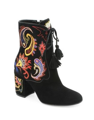 Alena Block Heel Booties by Rachel Zoe