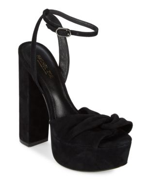 Claudette Suede Sandals by Rachel Zoe